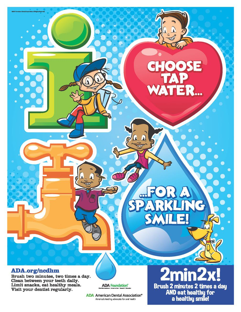 Choose Tap Water For A Healthy Smile Learn More About